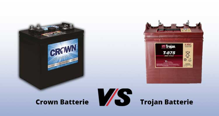 Crown VS Trojan Batteries