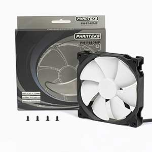 Phanteks 140mm, PWM, High Static Pressure Radiator Retail Cooling Fan