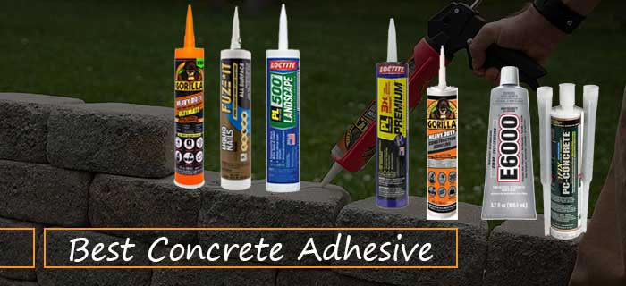 Best Concrete Adhesive