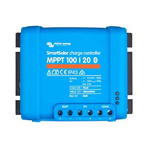 Victron SmartSolar MPPT 100/20 Solar Charge Controller