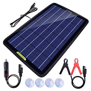 ECO-Worthy 12 Volt 10 Watt Solar Battery Charger