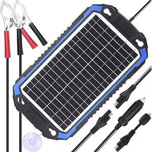 SUNER POWER 12V Solar Car Battery Charger