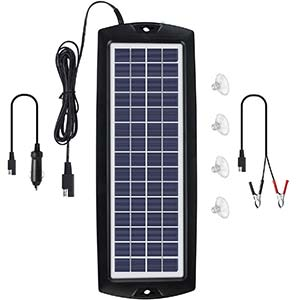 Sunway Solar Battery Trickle Charger & Maintainer