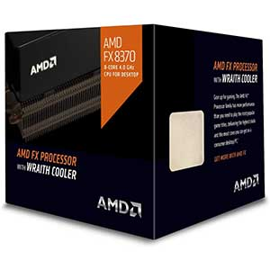 AMD FX-8370 Processor with Wraith Cooler