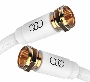 Shielded CL3 In-Wall Rated Coax Cable