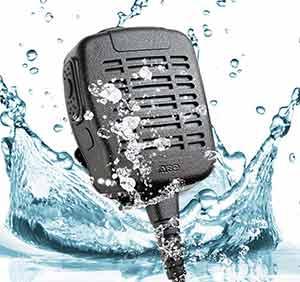 Water Resistance Speaker Mic